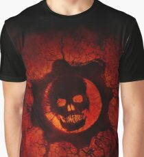 Red Skull - Gears of War Graphic T-Shirt