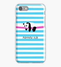 Relaxing Panda iPhone Case/Skin