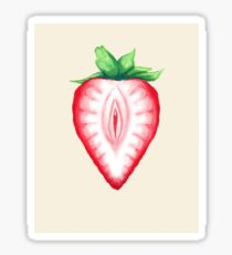 Juicy Strawberry Sticker