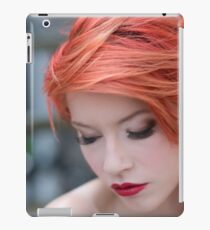 Red hair iPad Case/Skin