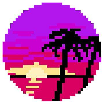 Pixel Palms by MrJansen