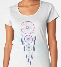 Psychedelic Dream Catcher Women's Premium T-Shirt