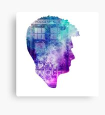 Doctor Who tenth doctor- David Tennant Canvas Print