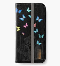 Alice In Wonderland - Let The Adventure Begin iPhone Wallet