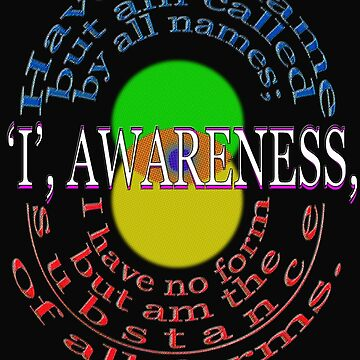 I, AWARENESS by TeaseTees