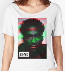 Q-tip - Retro  Women's Relaxed Fit T-Shirt