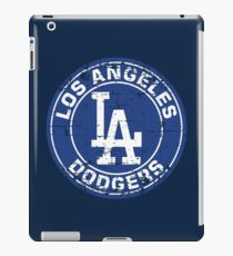 Los Angeles Dodgers Baseball Club MLB-Distressed iPad Case/Skin