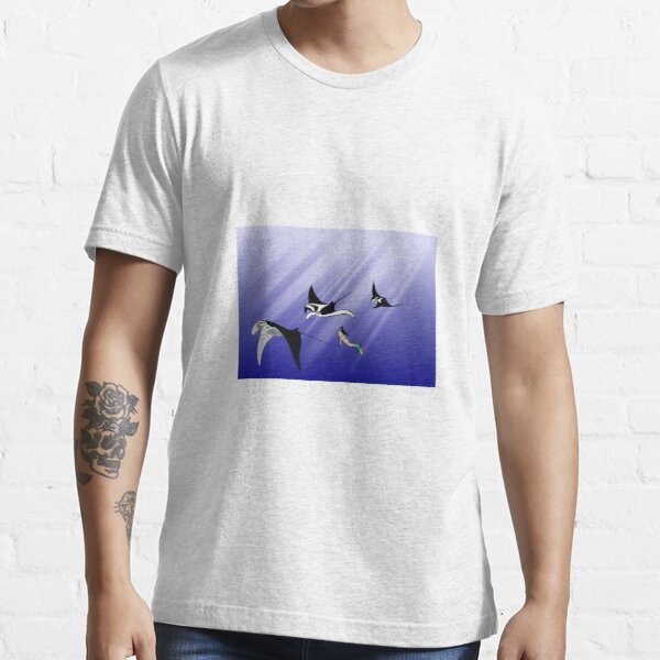 Freediving with Manta Essential T-Shirt