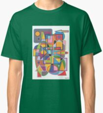 1901 - Brightly Colored Forms In Cooperation Classic T-Shirt