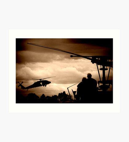 The Choppers Art Print