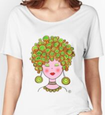 Bubbly Girl! Women's Relaxed Fit T-Shirt