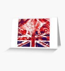 Britannia Arises in Turmoil Greeting Card