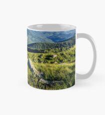 stones on the hill of mountain range Mug