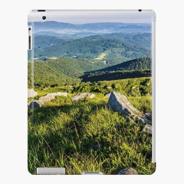 stones on the hill of mountain range iPad Snap Case