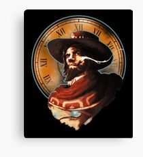 It's High Noon Canvas Print