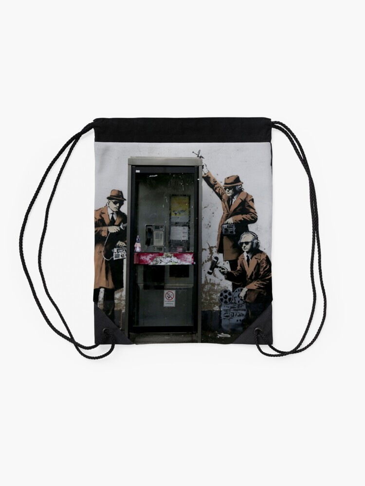 Banksy Telefonzelle