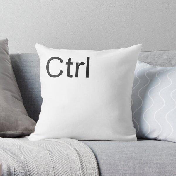 Ctrl Pillow Throw Pillow