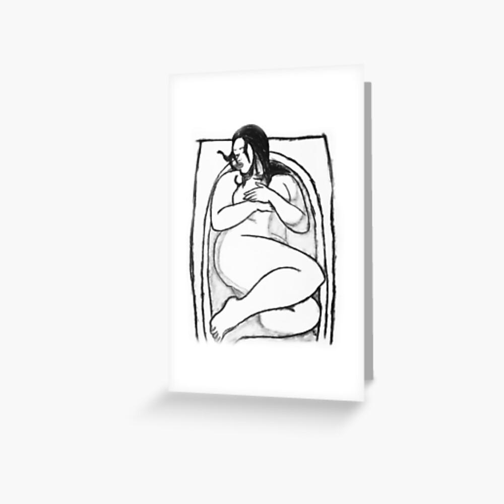 Mujeres Gordas Bbw bañera bbw | tarjetas de felicitación