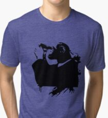 a monkey hungry for death Tri-blend T-Shirt