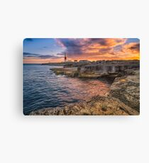 Portland Bill Lighthouse Canvas Print