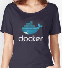 Docker Logo Women's Relaxed Fit T-Shirt