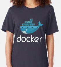 Docker Logo Slim Fit T-Shirt