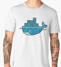 Docker Logo Men's Premium T-Shirt