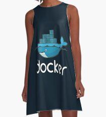 Docker Logo A-Line Dress