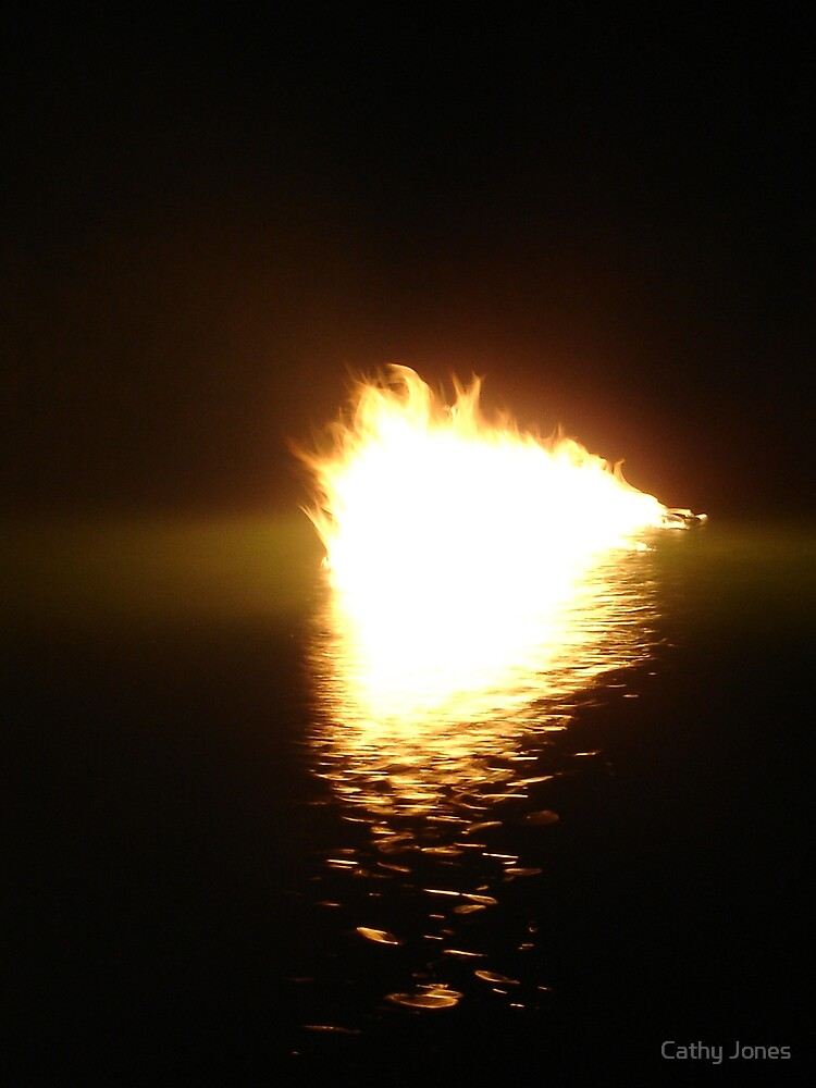 Fire on the Water by Cathy Jones