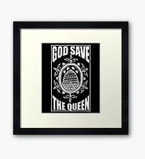 God Save The Queen Bee Shirt Framed Print