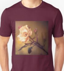 The pink flower - Oil painting T-Shirt