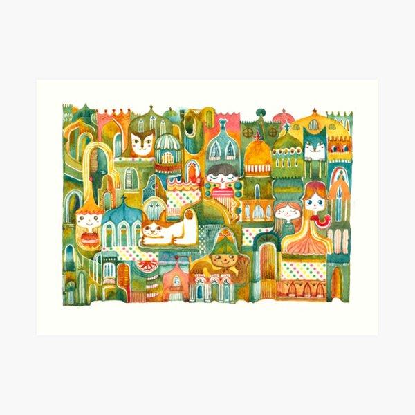 Magical Castles Art Print