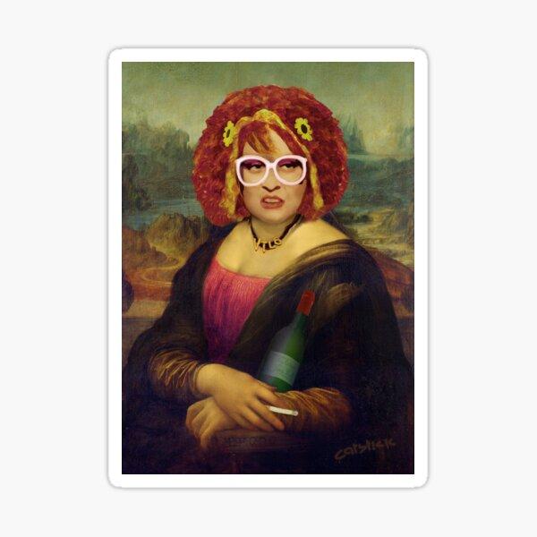 Moaner Linda (No Gold Frame) Sticker