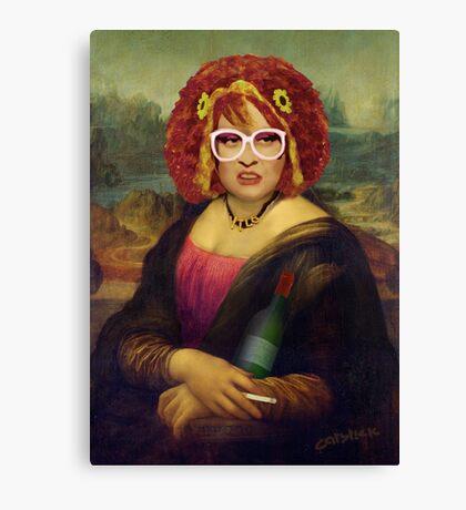 Moaner Linda (No Gold Frame) Canvas Print