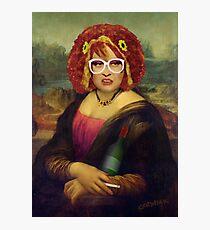 Moaner Linda (No Gold Frame) Photographic Print