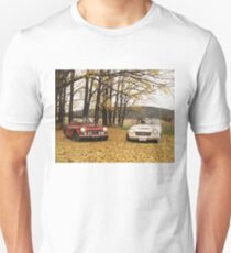 Datsun Sports 2000 Fairlady Autumn Leaves Unisex T-Shirt