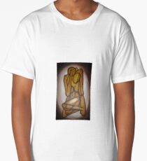 Abstract Lovers Long T-Shirt