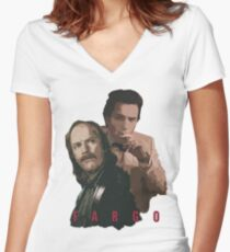 FARGO - The Stussy brothers Women's Fitted V-Neck T-Shirt