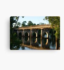 End of an Era ~ East Innisfail 'Jubilee' Bridge  Canvas Print