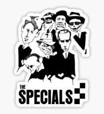 Specials Caricature Characters Sticker