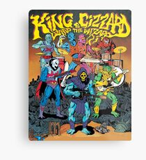 king gizzard and the lizard wizard  Metal Print