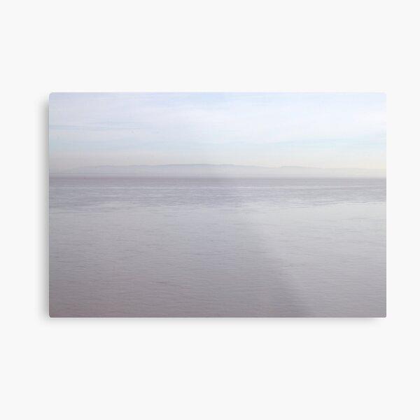 Wales in the mist Metal Print