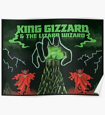king gizard and the lizard wizard Poster