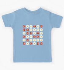 Strawberries and daisies Kids Tee