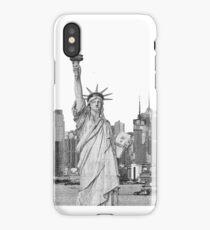 Statue of Liberty New York City New York Skyline iPhone Case