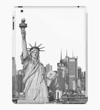 Statue of Liberty New York City New York Skyline iPad Case/Skin