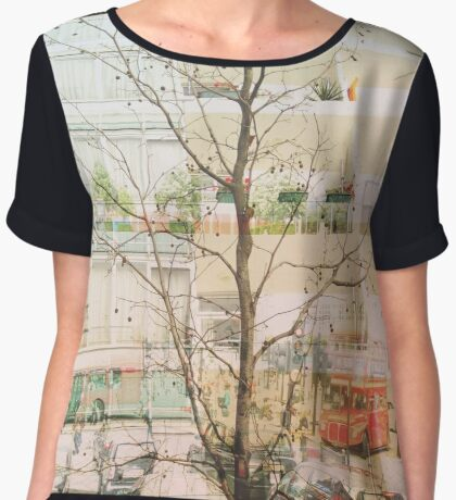 London Women's Chiffon Top