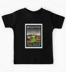 brighton rubbish-logo Kids Tee