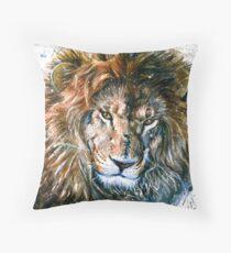 Lion 3 Throw Pillow