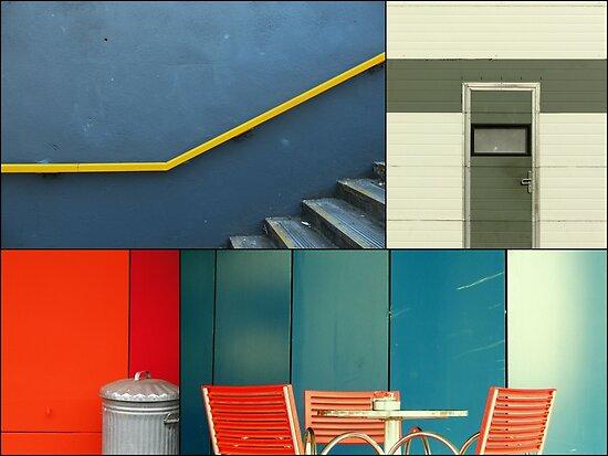 Urban Fragments by TalBright